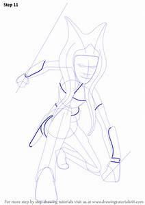 Learn How To Draw Ahsoka Tano From Star Wars  Star Wars