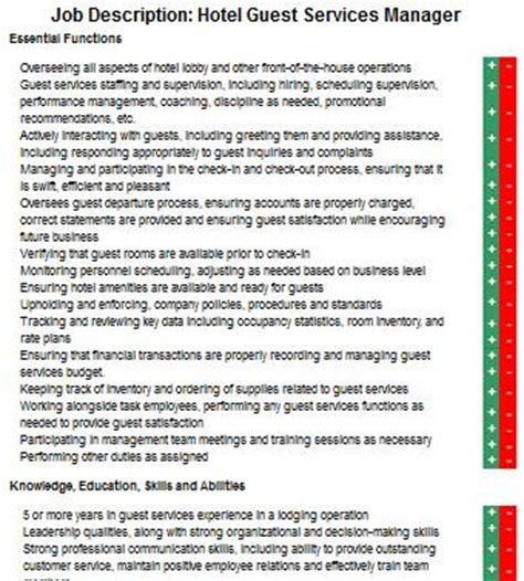 Hotel Corporate Sales Coordinator Description by Concierge Duties And Responsibilities Security Guards Companies
