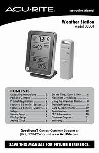 Weather Station Manual H10515 Dcf