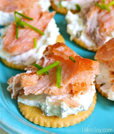 smoked salmon canap 233 s easy appetizer idea that is always a hit appetizers