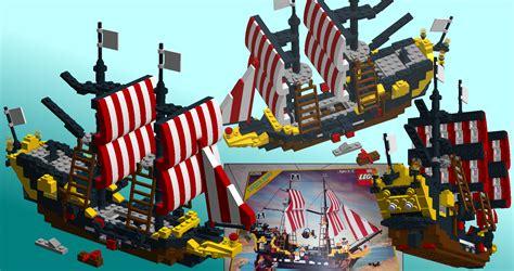 Lego Boat Pirate by Lego Mini Black Sea Barracuda Pirate Ship By Trikeboy2 On