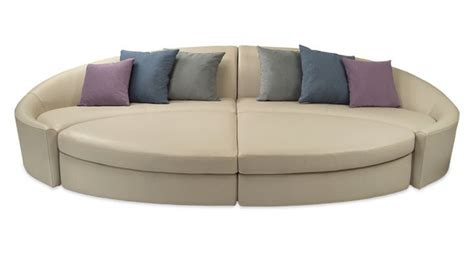 canape angle rond canape cuir cocoon