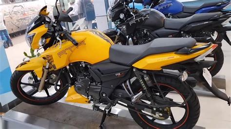 It is a very popular bike in india. New TVS Apache RTR 160cc Price In BD || TVS Apache Yellow Matte Color || Apache RTR 160 Review ...