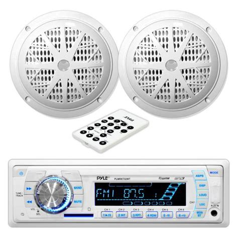 Pyle Boat Stereo Reviews by Pyle Plmrkt32wt Marine Boat Stereo Sd Mp3 Usb Stereo 5