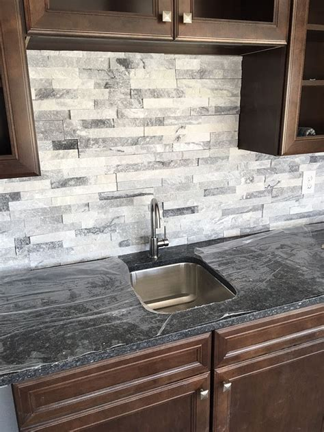 tile backsplash stacked is a great bar backsplash home bar