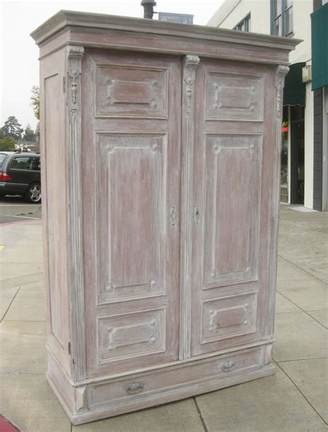 Clothing Armoire For Sale by Uhuru Furniture Collectibles Sold Shabby Chic