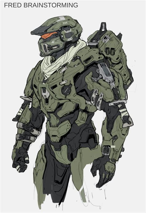 Heres A Ton Of Concept Art From Halo 5