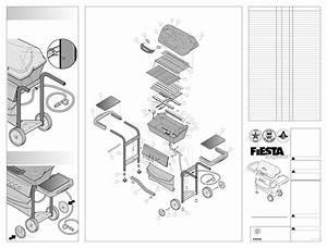 Fiesta Gas Grill Xt34555 User Guide