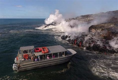 Are Lava Boat Tours Safe by Firefall Photography