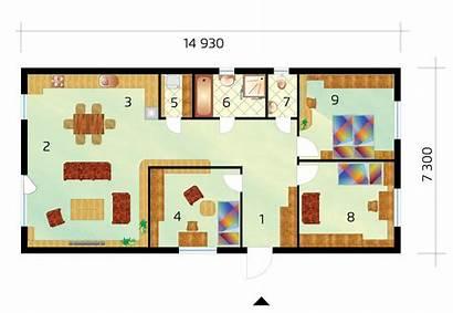Narrow Plot Three Bedroom Project