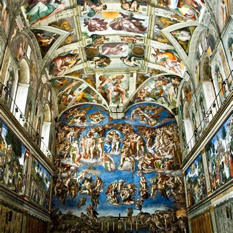Painted The Ceiling Of The Sistine Chapel In Rome by Ethereum Based Blockchain Project Wants To Disrupt The