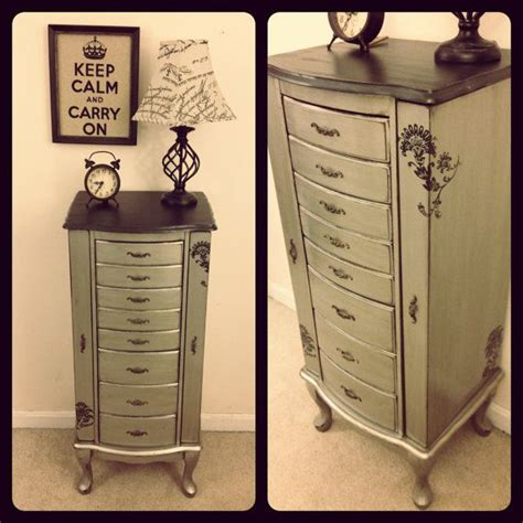 silver painted furniture shabby chic reserved antiqued silver jewelry armoire rustic vintage glam painted furniture shabby chic