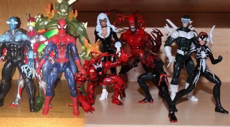 marvel legends amazing spider man  wave review spider