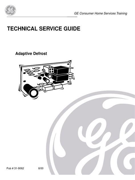 ge adaptive defrost refrigerator hvac