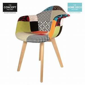 Fauteuil Scandinave Patchwork : fauteuil scandinave patchwork ~ Teatrodelosmanantiales.com Idées de Décoration