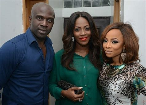 Photos: Toke Makinwa throws birthday party for her husband ...