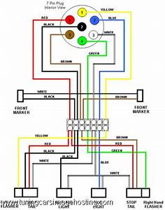 Diagram  6 Way Trailer Plug Wiring Diagram Dodge Full