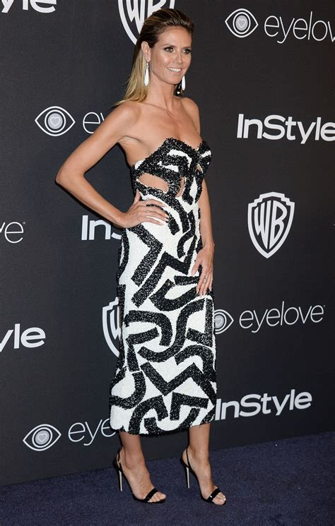 Heidi Klum Warner Bros Pictures Instyle