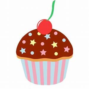 Cartoon Cupcake transparent PNG - StickPNG