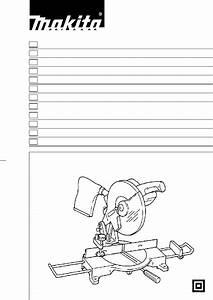 Makita Ls1030 Saw Instruction Manual Pdf View  Download