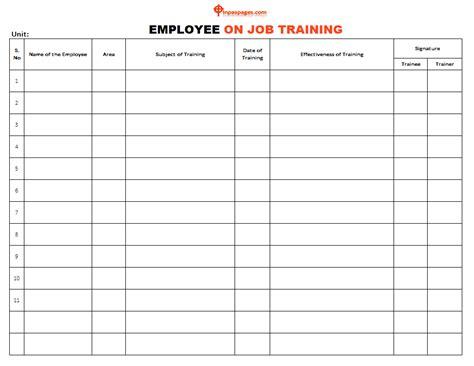 employee  job training importance  advantage