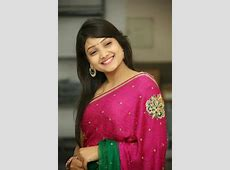 Telugu Actress Priyanka Sexy Stills In Pink Saree South