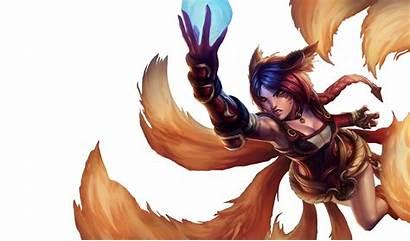 Ahri Foxfire League Splashart Renders Legends Transparent