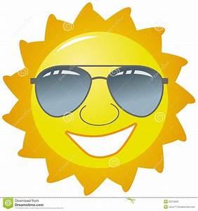 Happy Sun With Glasses   www.pixshark.com - Images ...