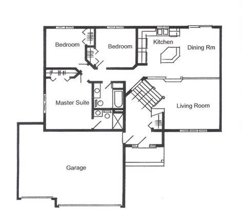 Split Foyer Floor Plans by Split Foyer Floor Plans Find House Plans