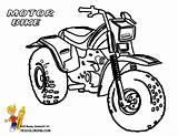 Coloring Pages Motorbike Bike Dirt Motorcycle Motor Printable Easy Boys Bikes Motocross Sheet Colouring Adults Cartoon Yescoloring Kawasaki Library Clipart sketch template
