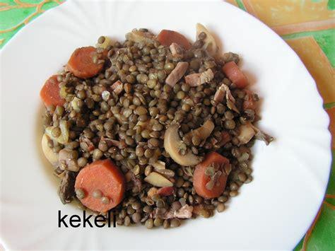 cuisine lentilles vertes lentilles vertes à la forestière le de kekeli