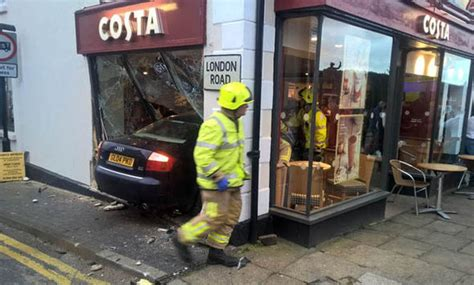 Crashed Into A Coffee Table by Elderly Of Two Named As Costa Coffee Crash Victim