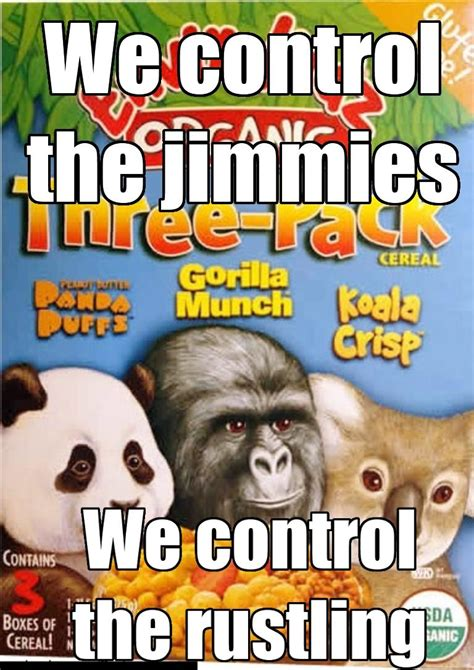 Gorilla Munch Meme - image 253044 that really rustled my jimmies know your meme