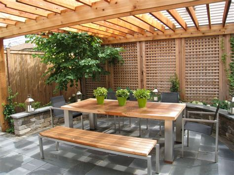 outdoor patio ideas with fireplace patio corner privacy