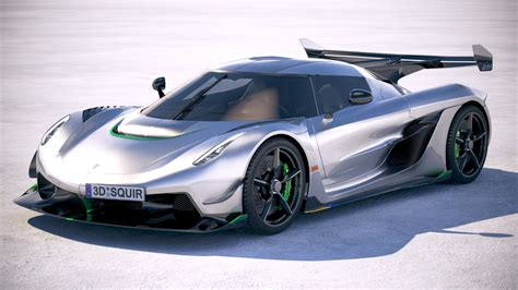 koenigsegg jesko  model turbosquid