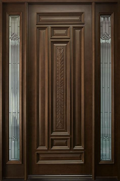 front single door designs in kerala style exterior door in 2019 front doors wooden
