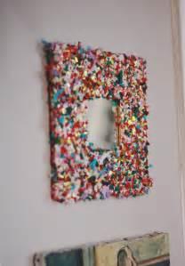 DIY Confetti Mirror