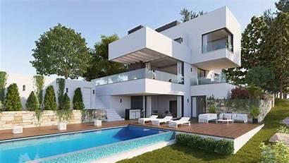 Villa Villas Modern Views Elegant Location Sustainable