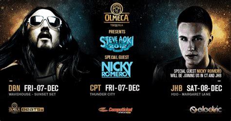 Steve Aoki And Nicky Romero Sa Tour