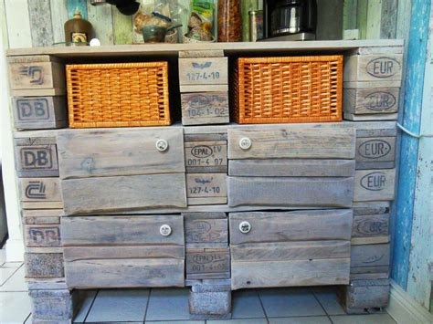 euro pallet kitchen cabinet small cupboard pallet version pallet furniture pallet furniture