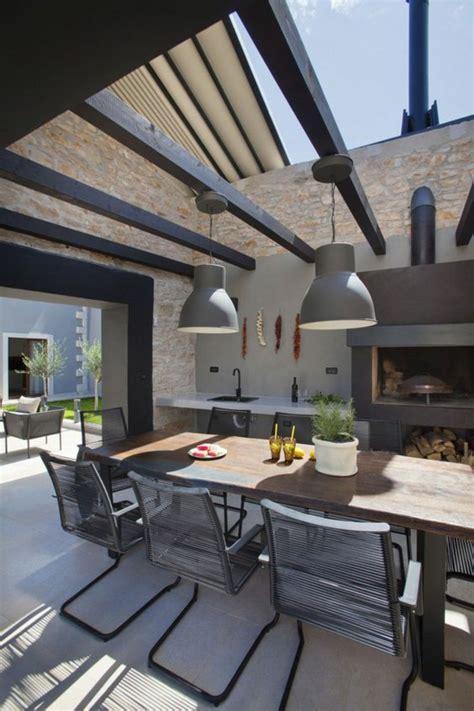 cuisine four a bois 1001 idées d 39 aménagement d 39 une cuisine d 39 été extérieure