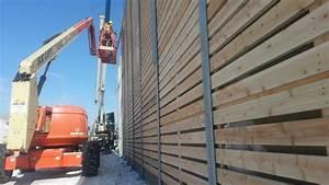 Mur Anti Bruit Végétal : le mur antibruit tient ses promesses ici radio ~ Melissatoandfro.com Idées de Décoration