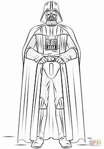 Darth Vader coloring page | Free Printable Coloring Pages