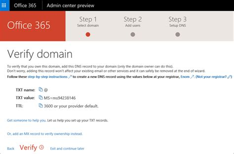 Office 365 Domain by How To Create A Custom Email The Beginner S Guide