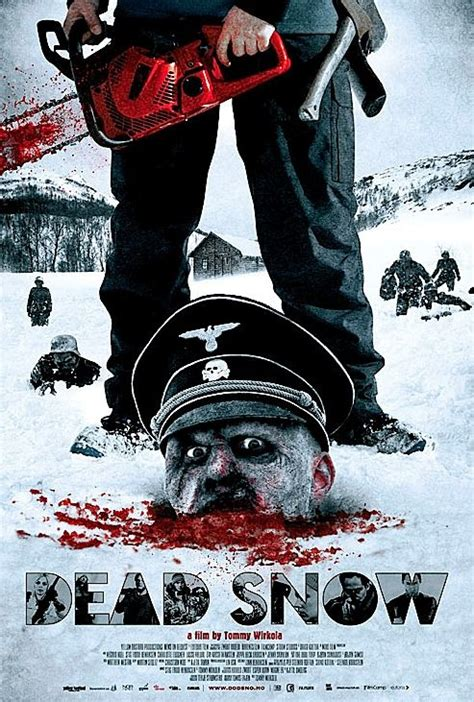 horror movie poster snow dead 2009 nazi film zombies zombie posters designs classic blood movies scary visit slasher face
