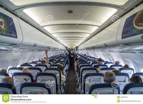Interieur Avion Air Fente Croatie 6 Mars 2015 Passagers 224 L Int 233 Rieur D Airbus A320 Des Lignes A 233 Riennes De La