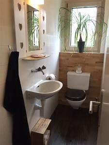 decoration wc naturel With superior gris bleu peinture 5 fp bois