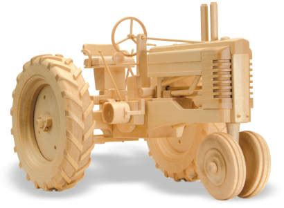 farm tractor  woodworking plan