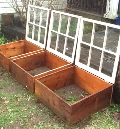 DIY Small Greenhouse Using Old Windows