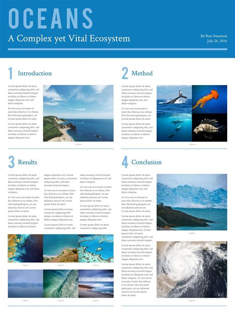 science research poster templates examples